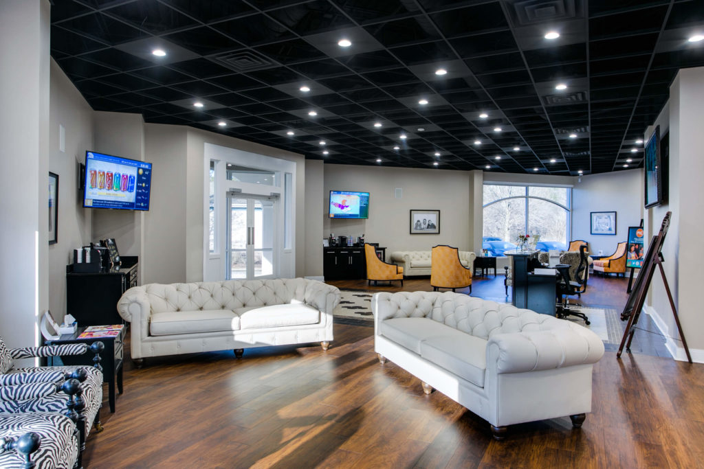 Cary Orthodontist and Oral Surgeon office Lobby