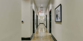 Hallways at NCOSO Hamlet