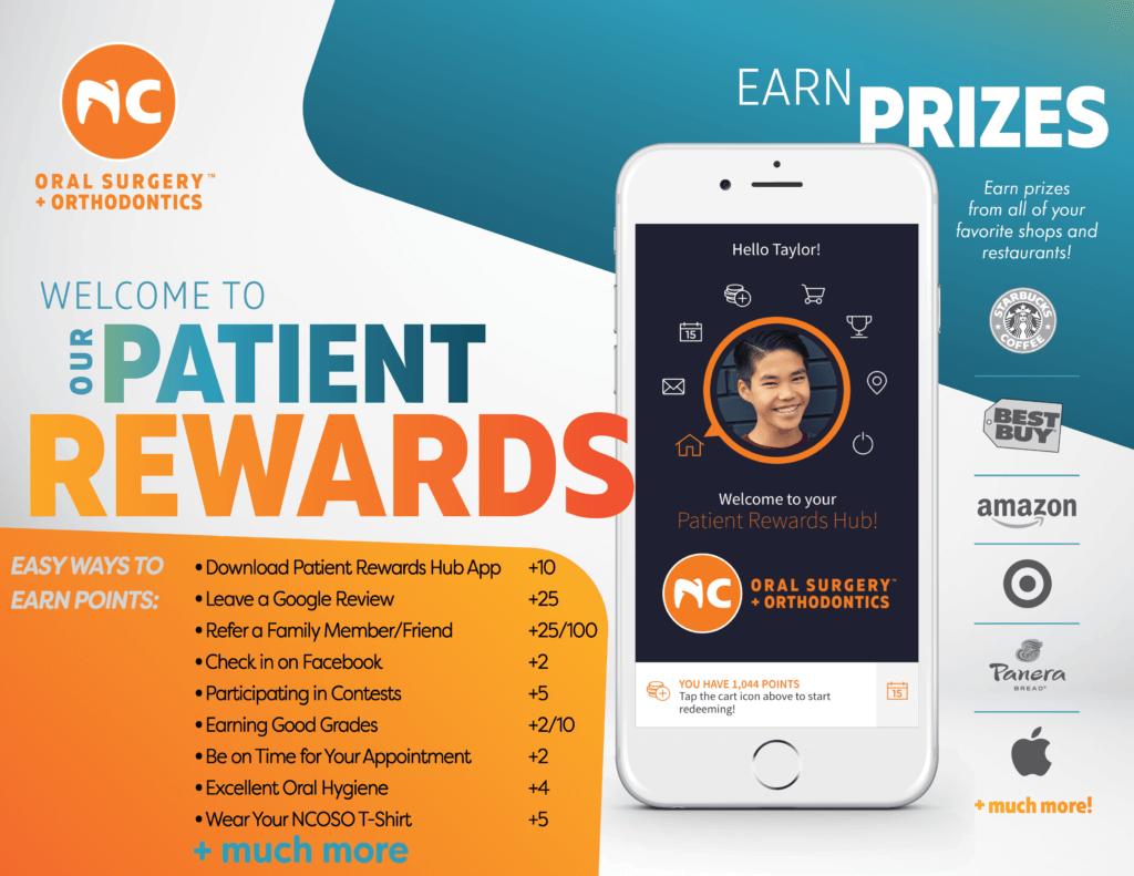 Patient Hub Rewards Points explained for NCOSO patients