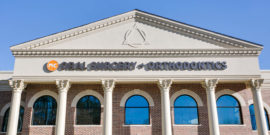 NC Oral Surgery and Orthodontics exterior sign close up