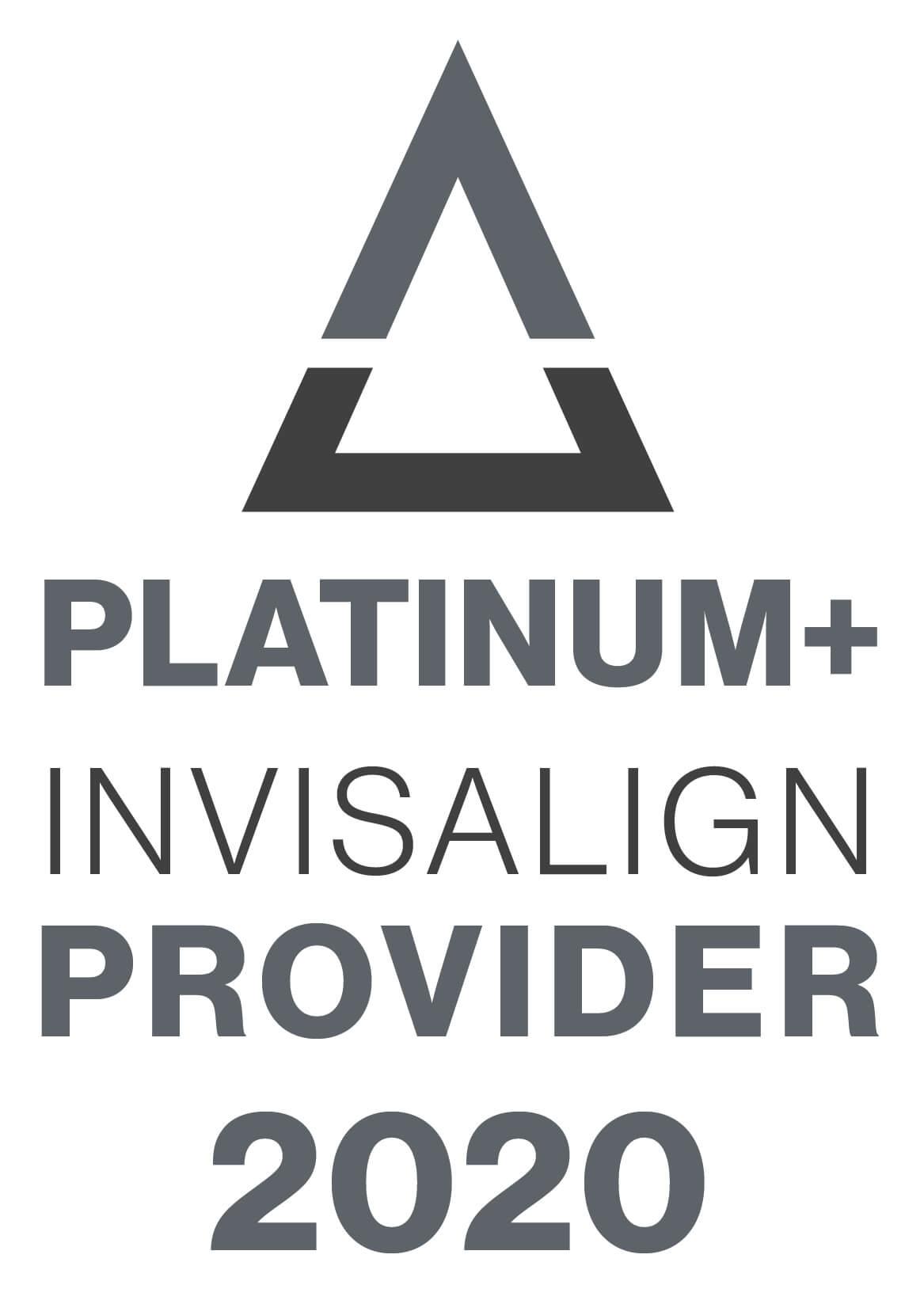 Platinum+ Invisalign 2020 logo